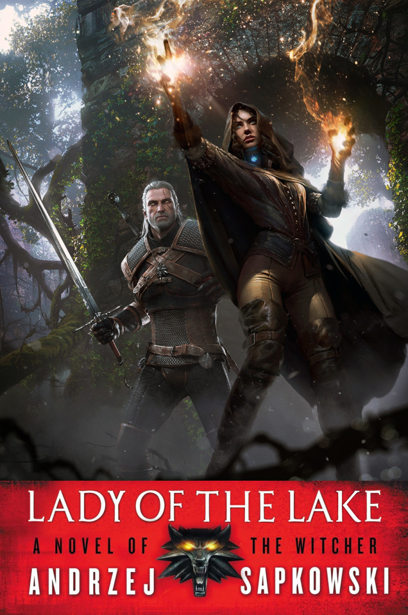 Alternate cover for The Lady of the Lake.