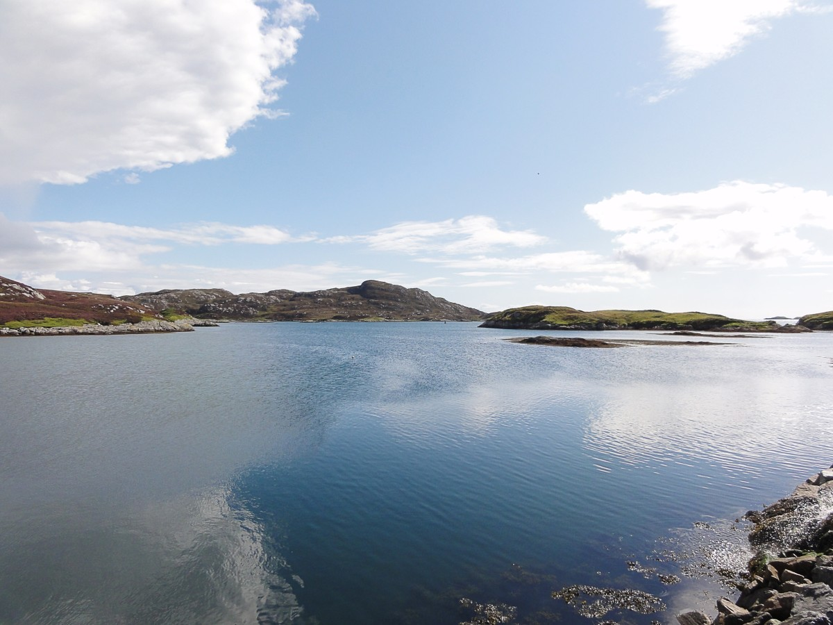 A view of North Uist in the Outer Hebrides, where Julie Fowlis was born