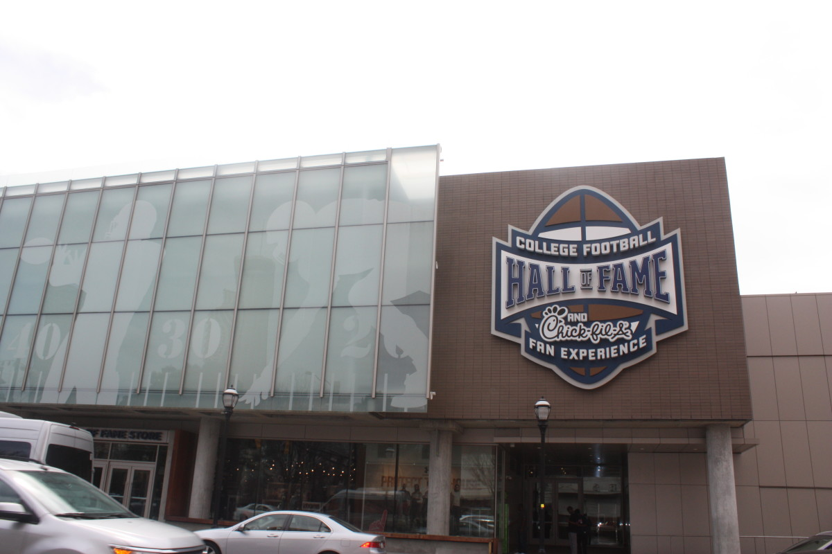 Visit the College Football Hall of Fame