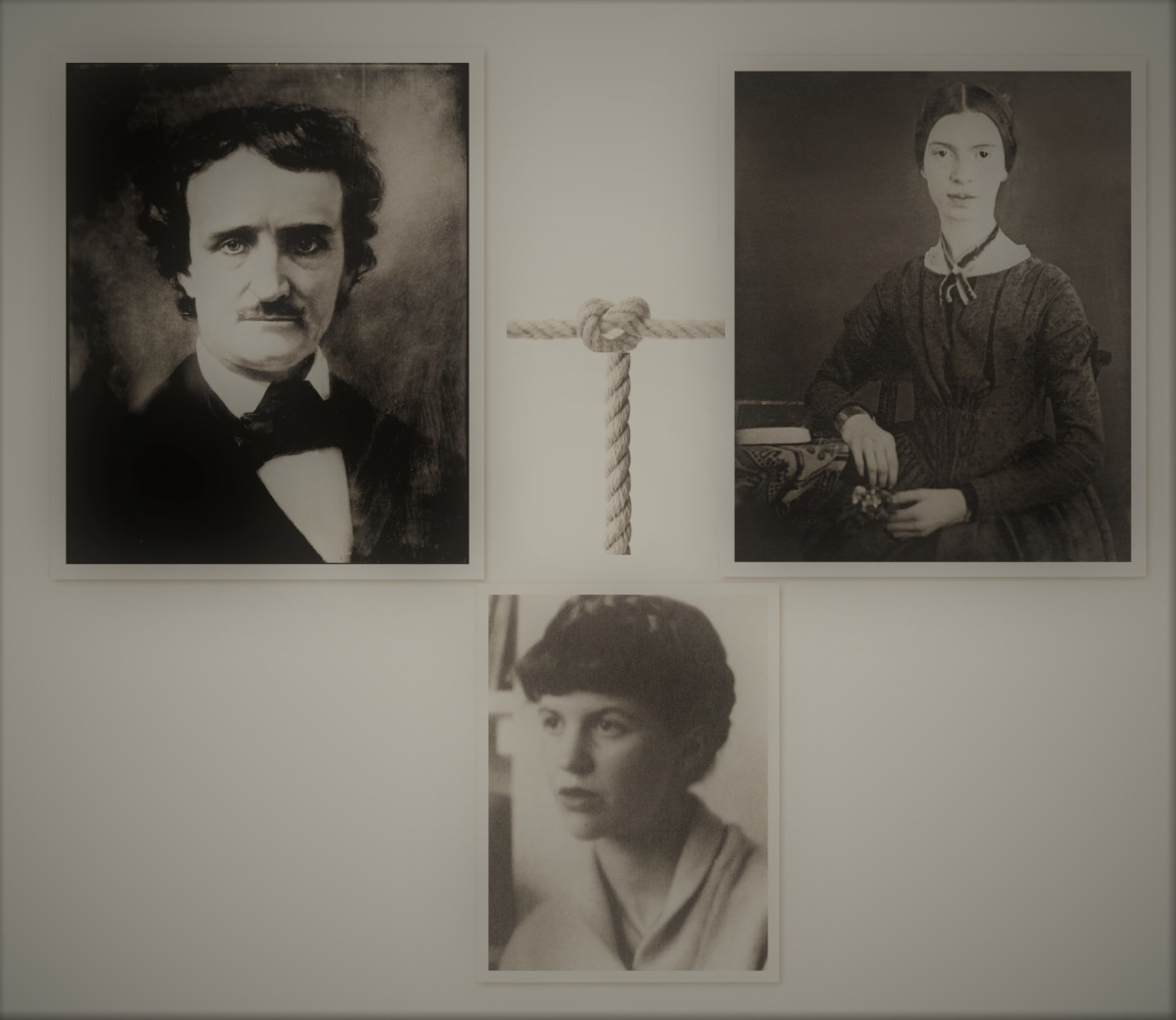 Edgar Allan Poe, Emily Dickinson, and Sylvia Plath