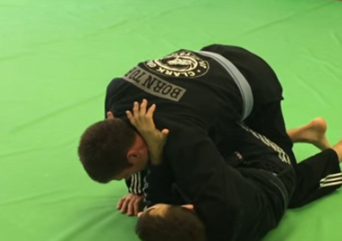 Sneaky Cross Choke From Open Guard for BJJ