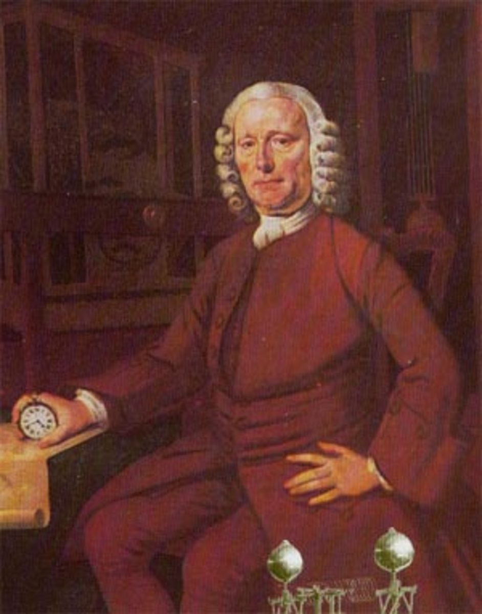 Portrait of John Harrison by Thomas King
