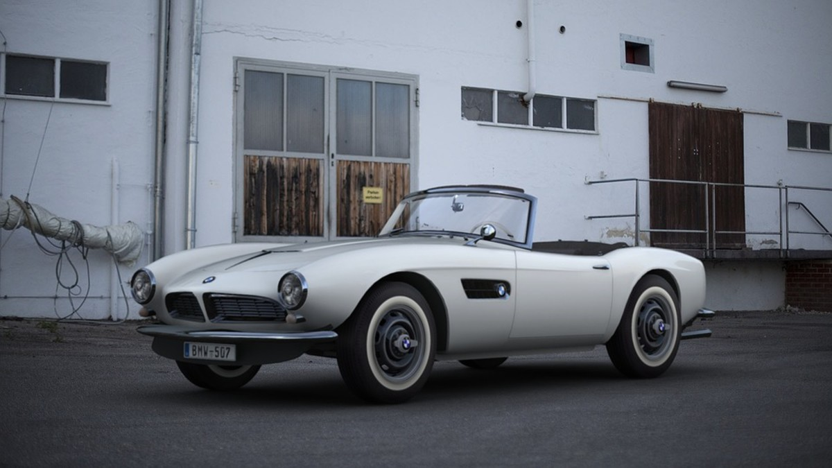 History of the Classic BMW 507