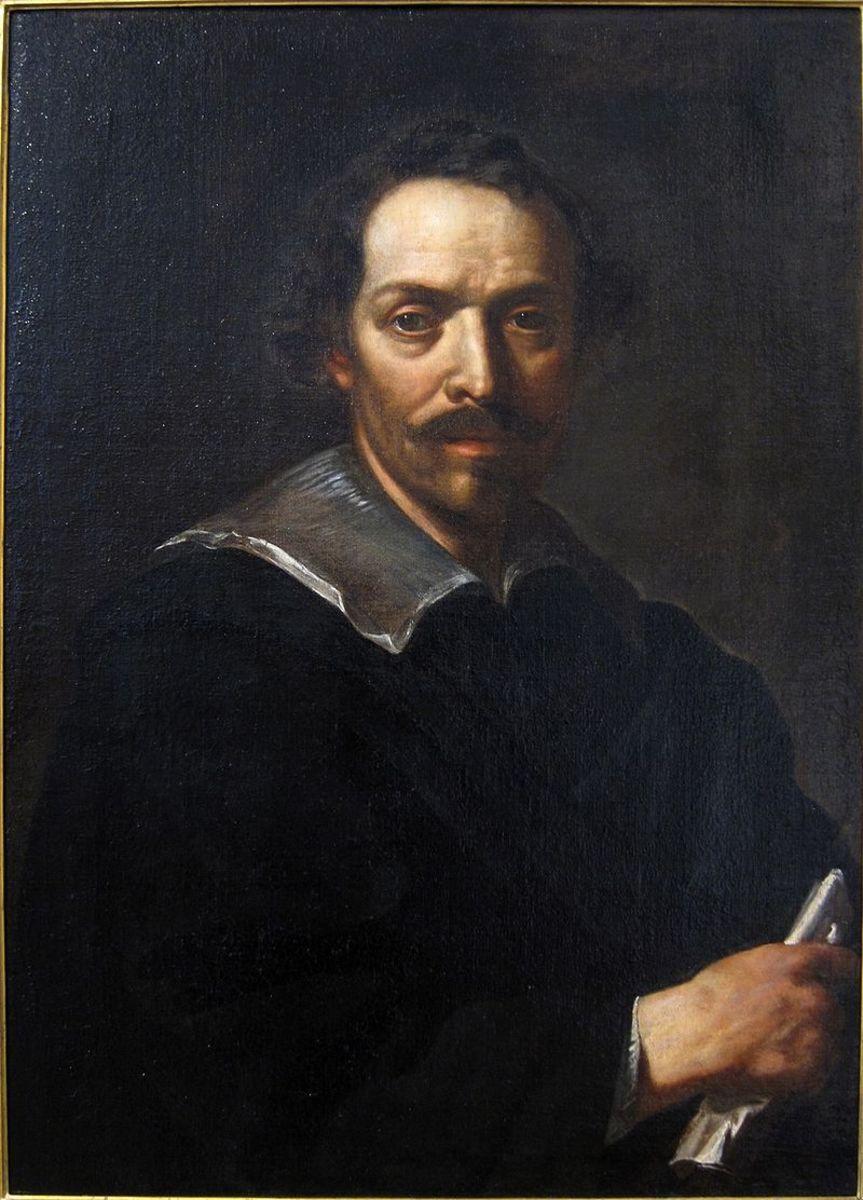 Self-portrait of Pietro da Cortona