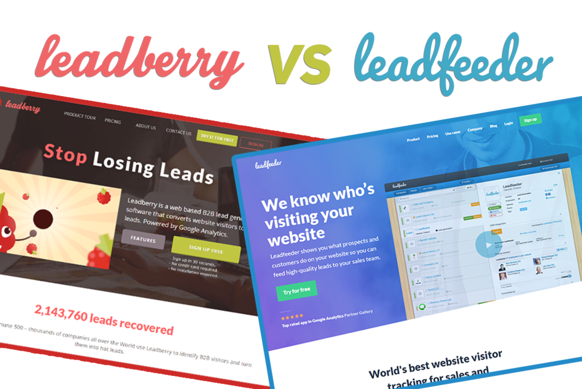 Leadfeeder vs. Leadberry: The Lead Generation Market Expands