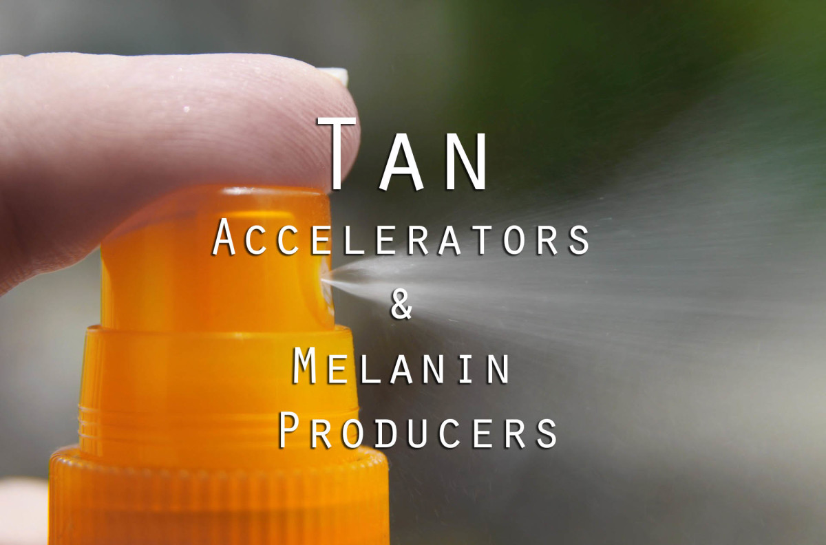 Tan Accelerators and Melanin Producers