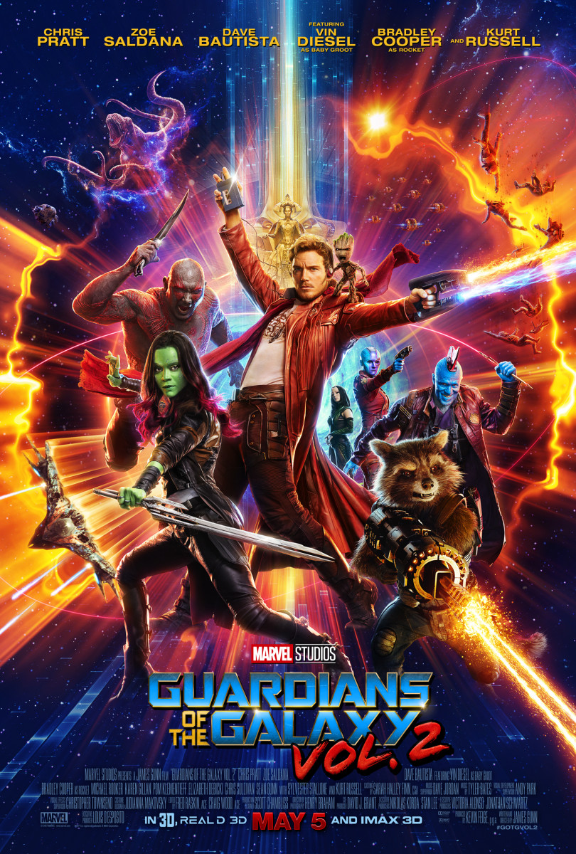 """""""Guardians of the Galaxy Vol. 2"""" : A Millennial's Movie Review"""