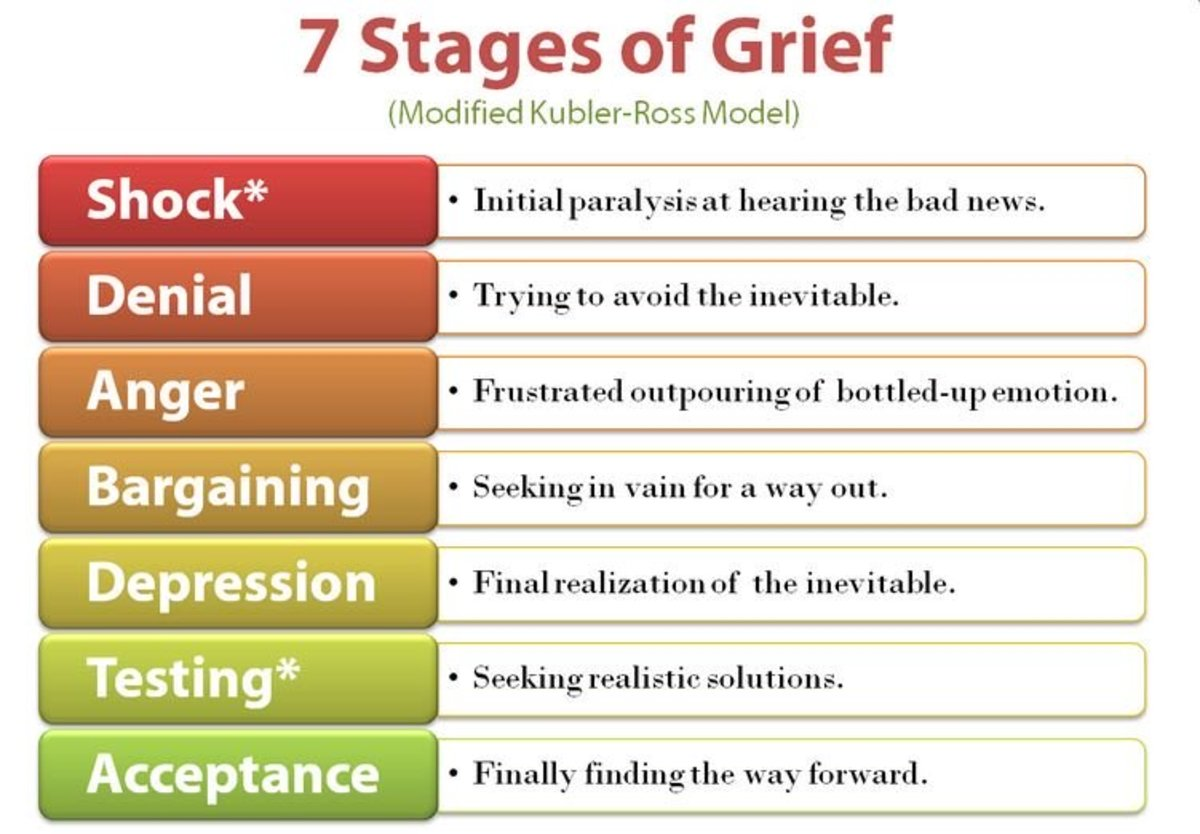 The Five Stages of Grief in Lament for a Son | Owlcation