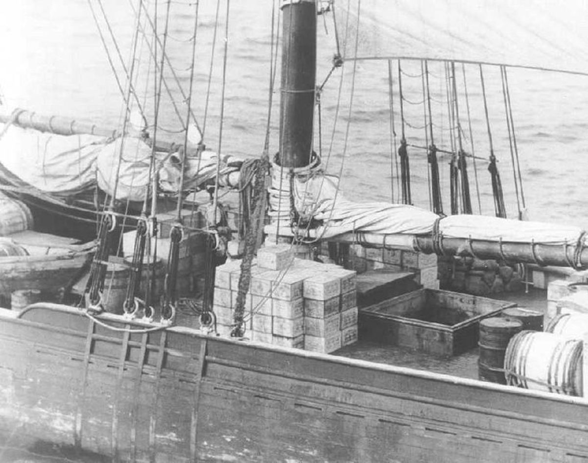 Rum Row Ships During Prohibition