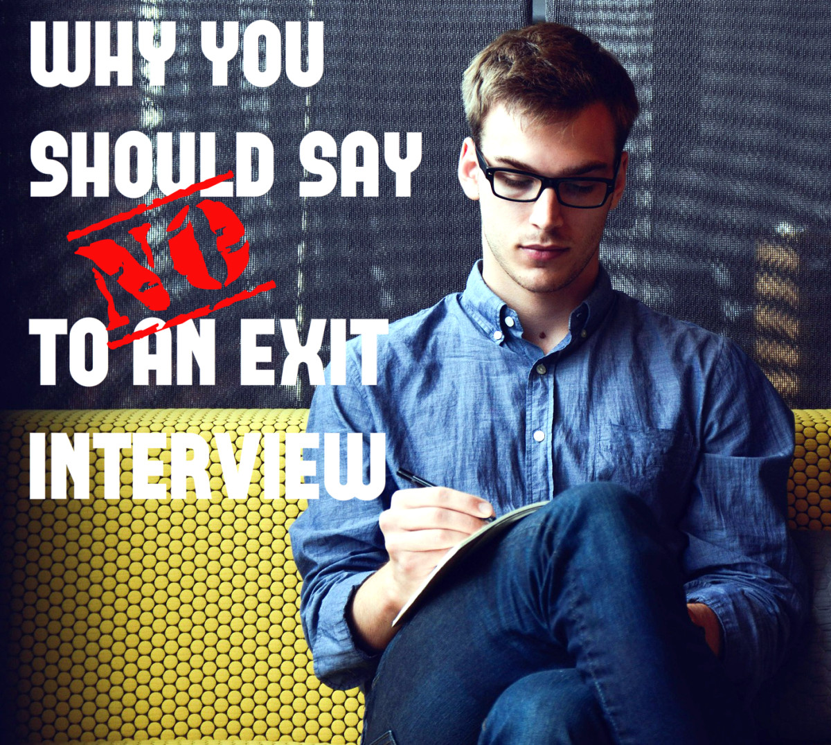 You may see an exit interview as an opportunity to vent about a micromanaging boss, lazy coworkers, or senseless corporate policies.  That's a mistake.  Decline and avoid the risks.