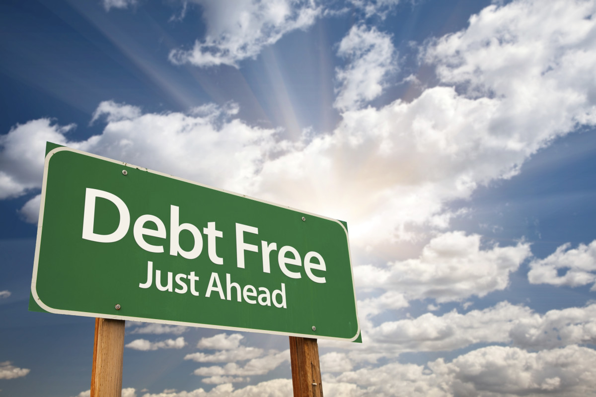Image result for debt free
