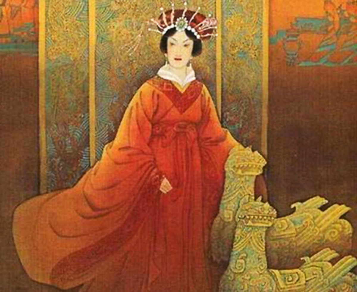 The consort of Han Dynasty founder Liu Bang is one of the most vicious Chinese empresses to have ever reigned.