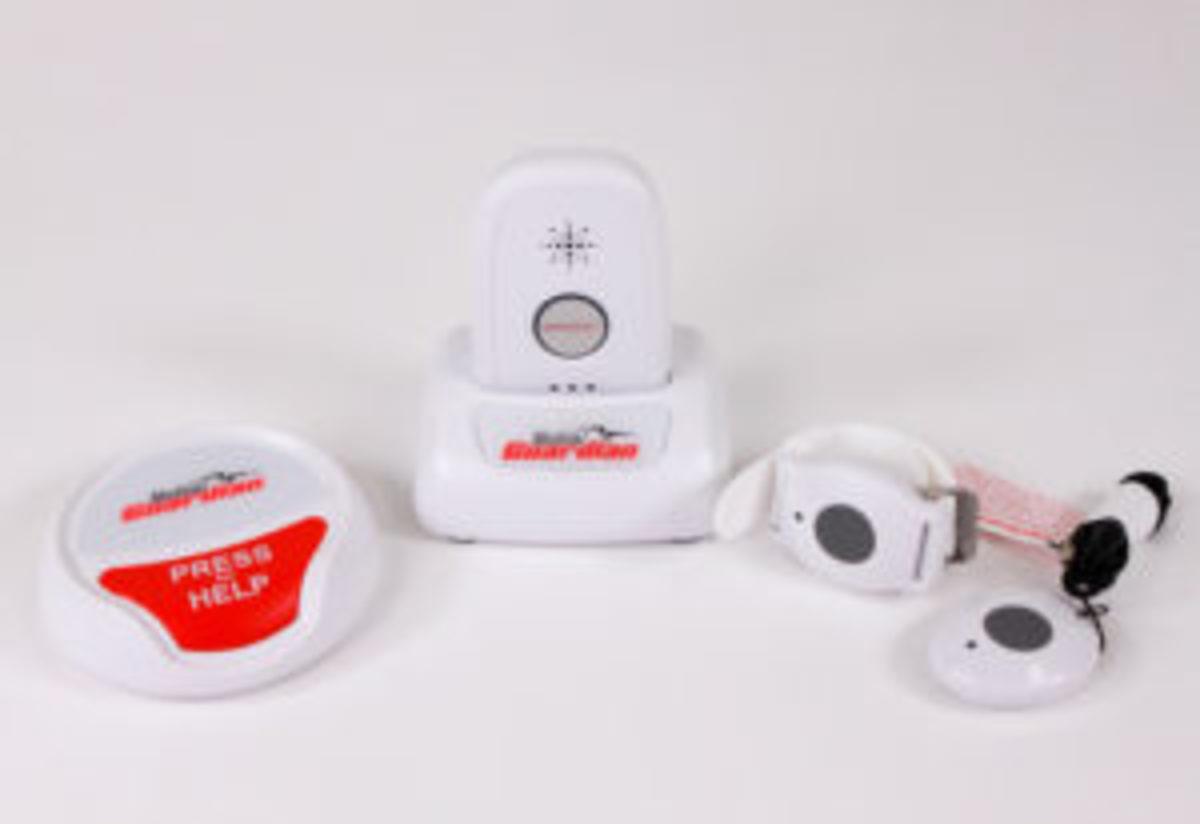 GPS medical alert device
