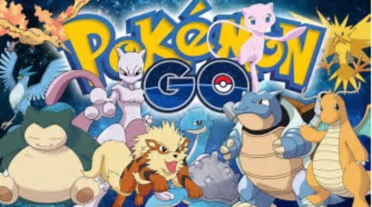 Characters in Pokemon Go