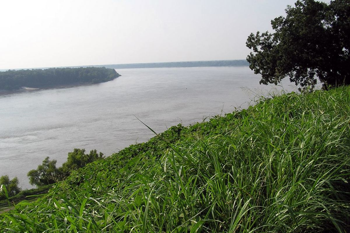 The Mississippi River at Vicksburg
