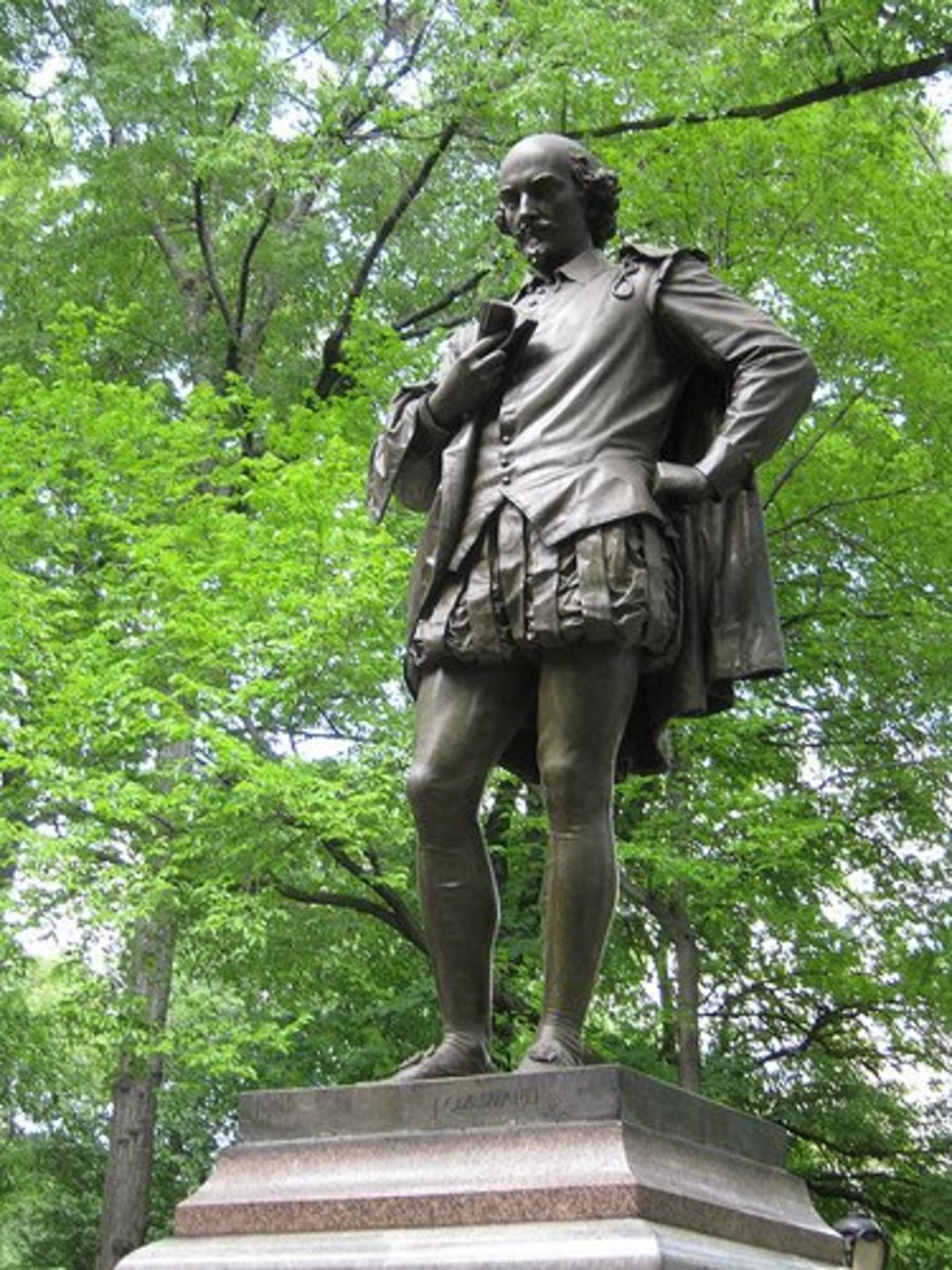 Shakespeare in Central Park.