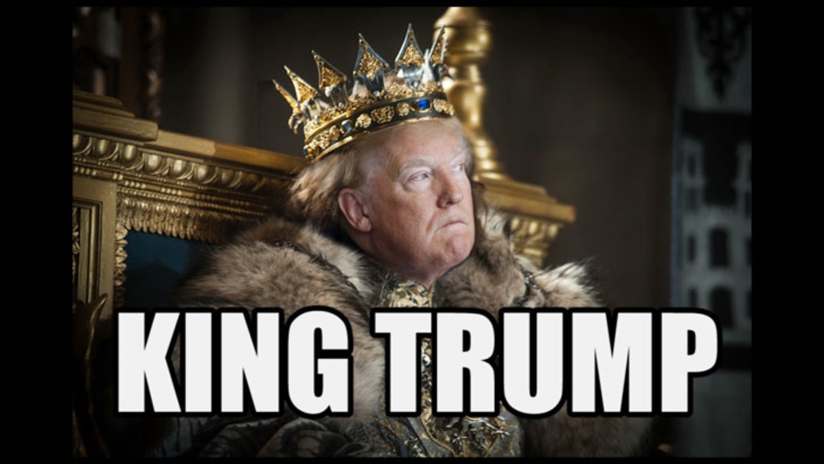 Image result for trump king of israel meme