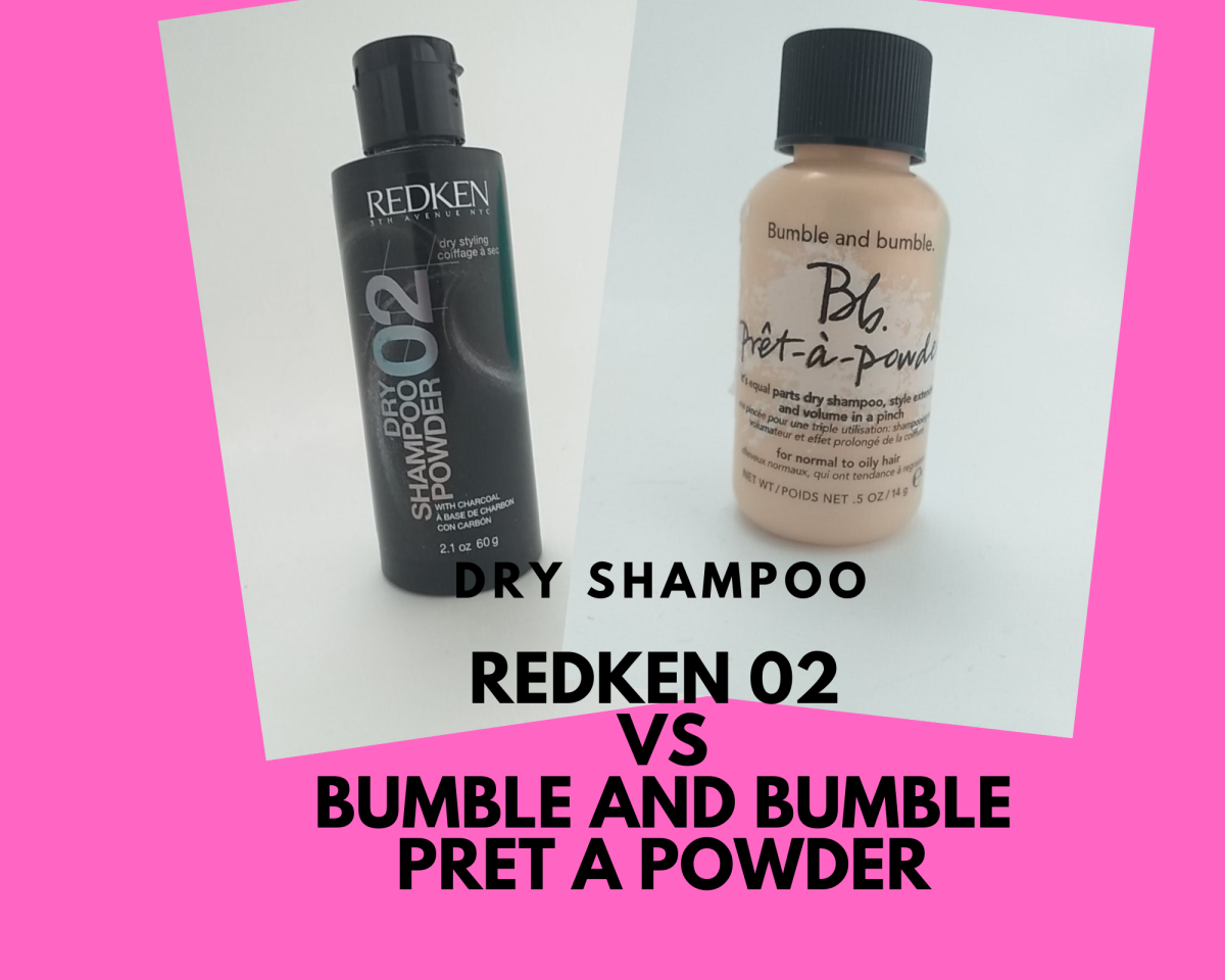 Bumble and bumble Pret-a-Powder versus Redken 02 dry shampoo powder.