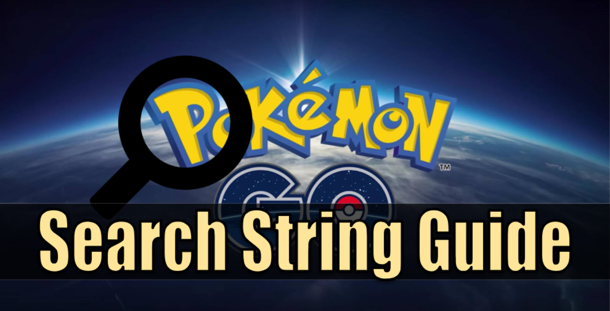 """Pokemon Go"" Guide to Pokebox Search Strings"