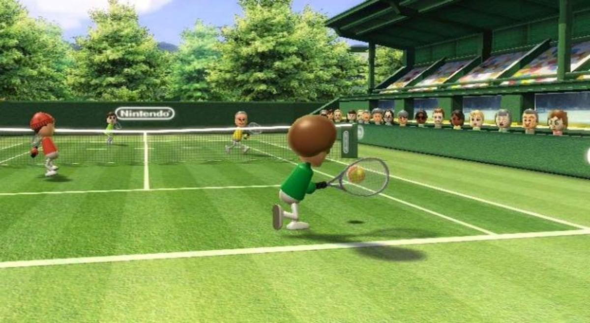 how to play wii tennis really well levelskip rh levelskip com Wii Sports Baseball wii sports bowling guide