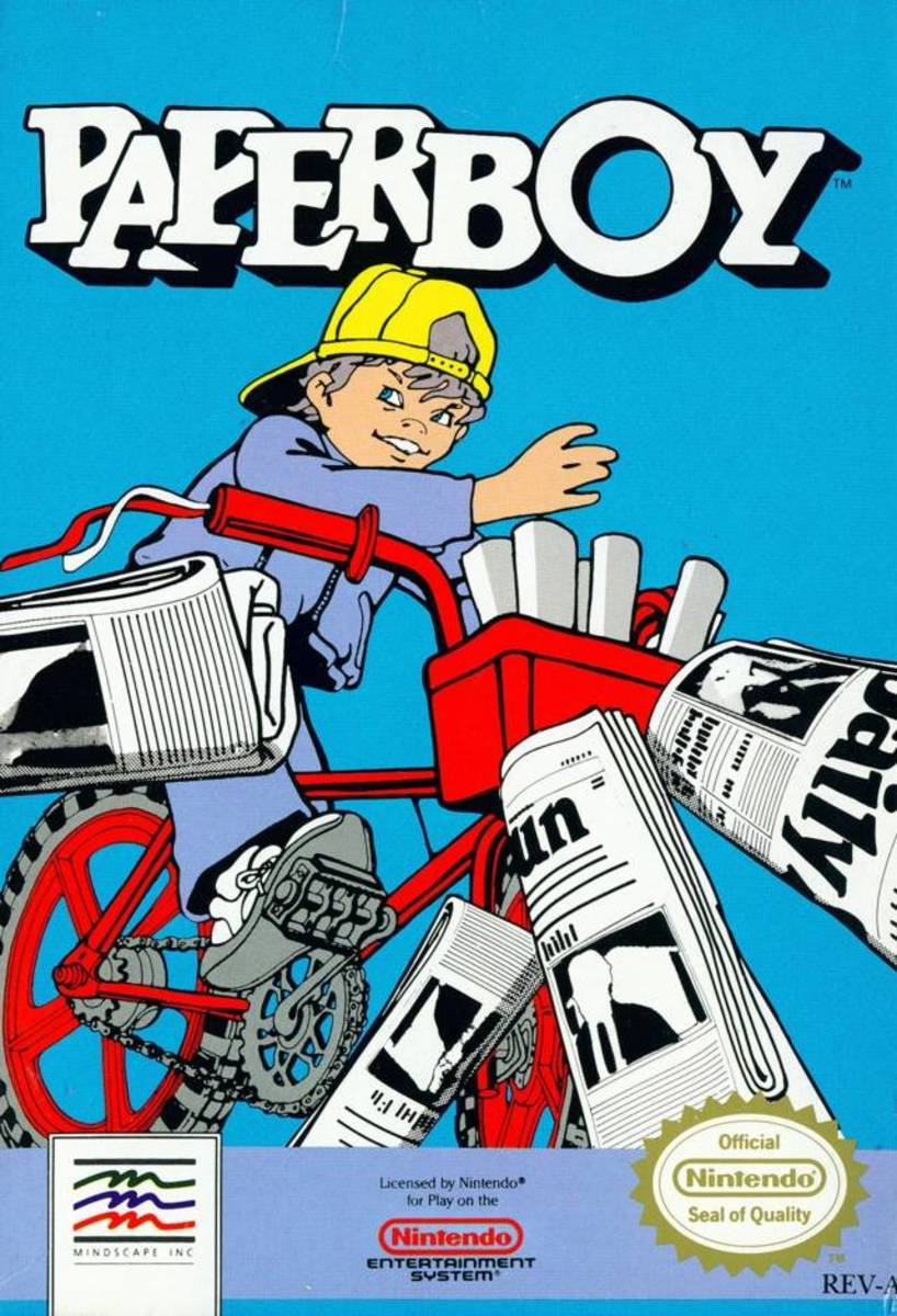 The Hardest Nintendo Game - Paperboy