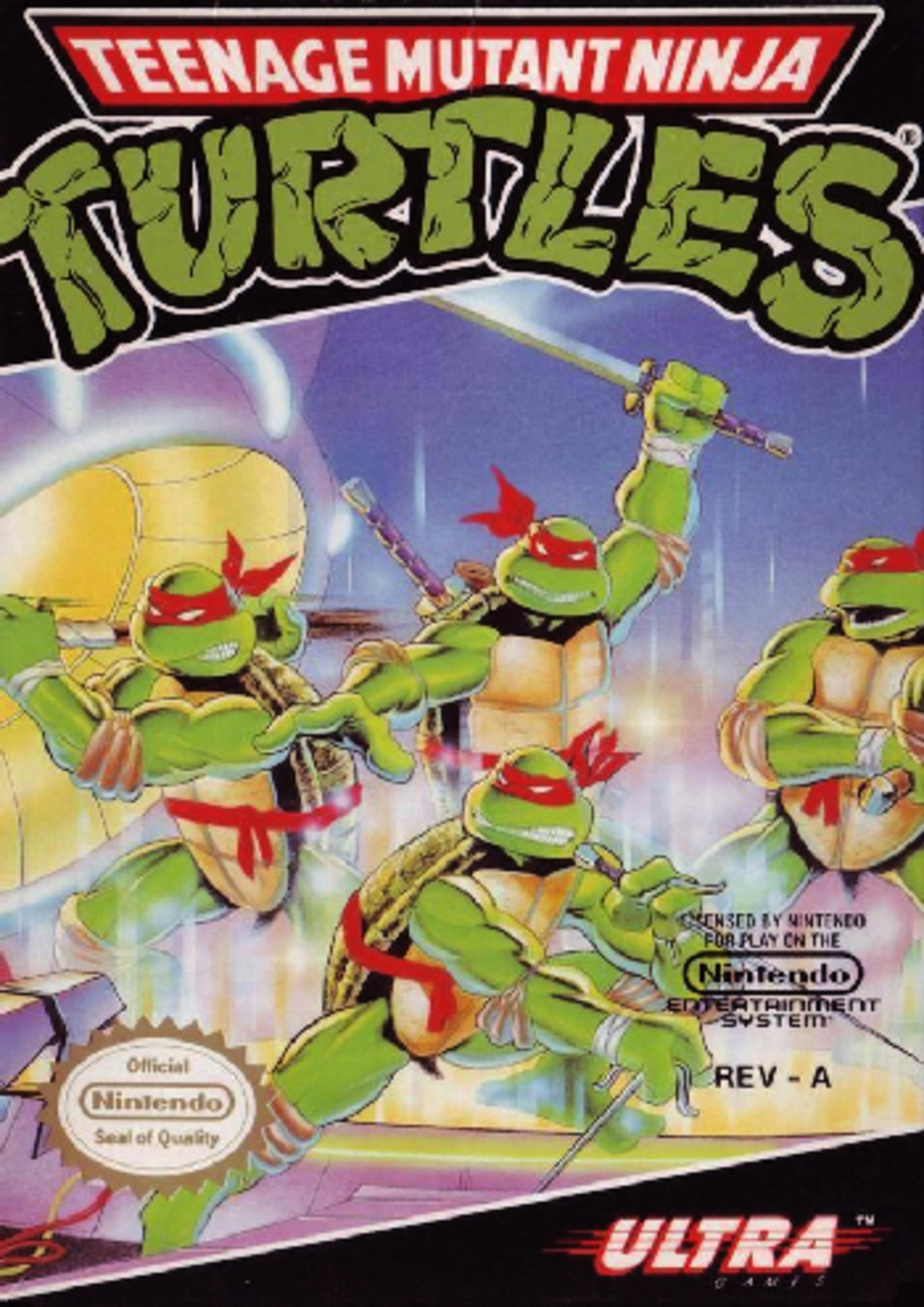 TMNT for NES Console