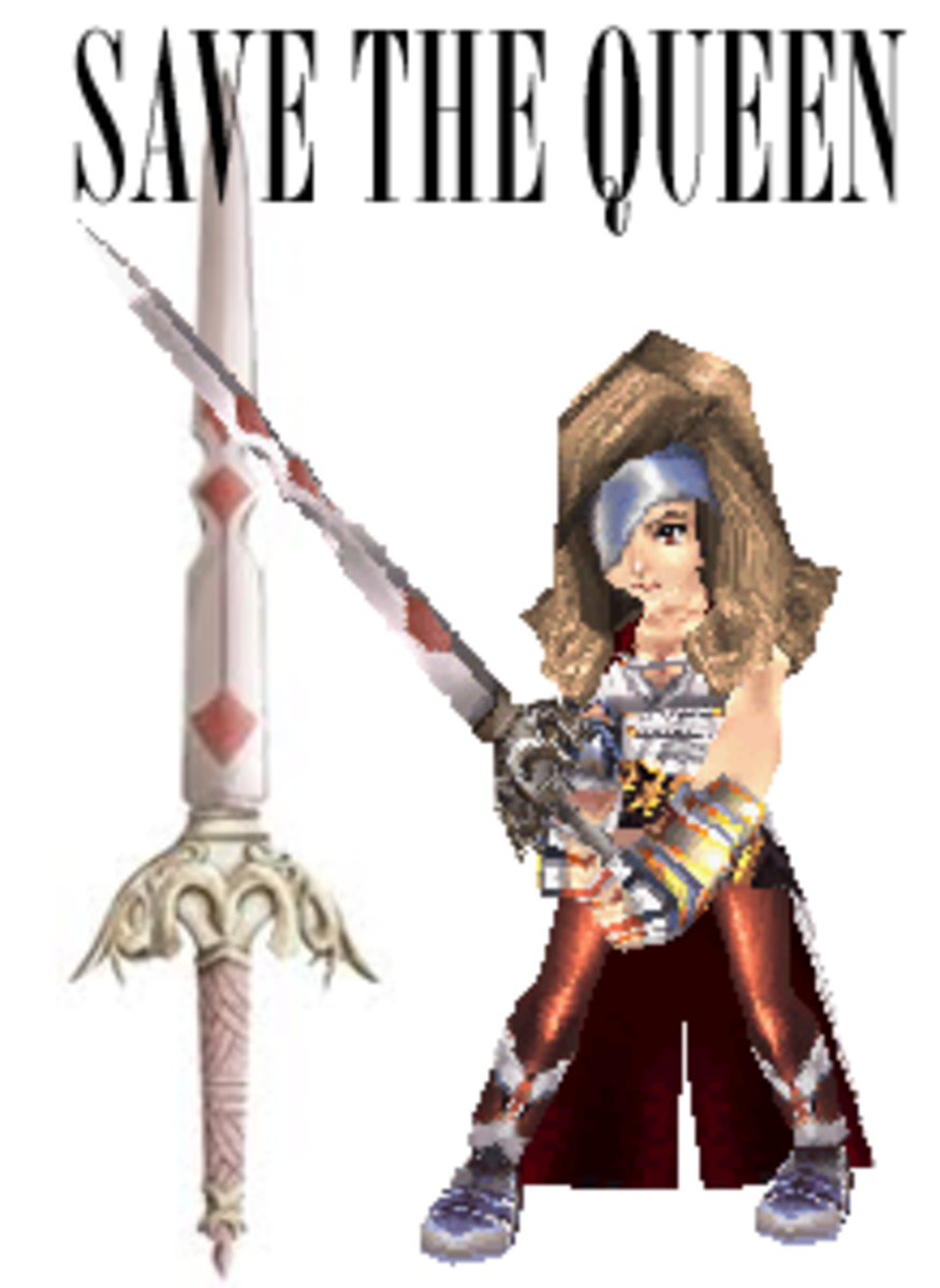 FFIX's Save the Queen - Beatrix