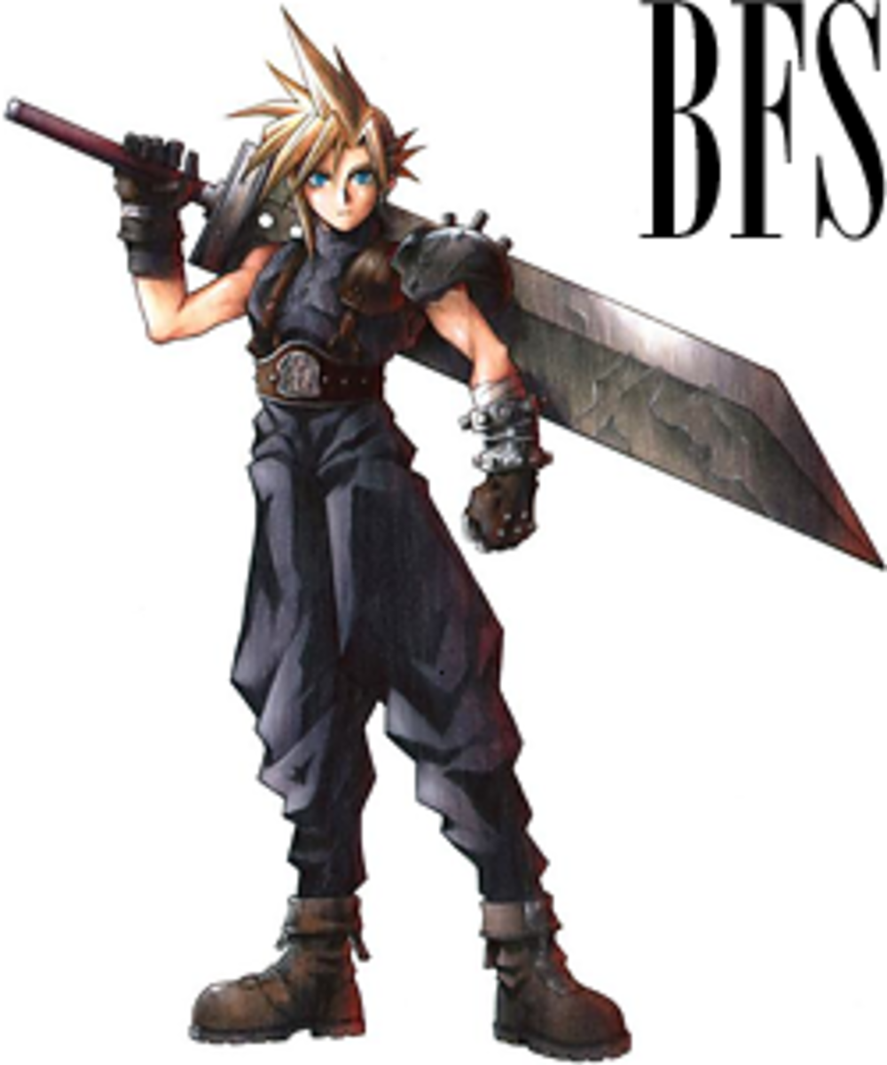 Cloud's Buster Sword - BFS