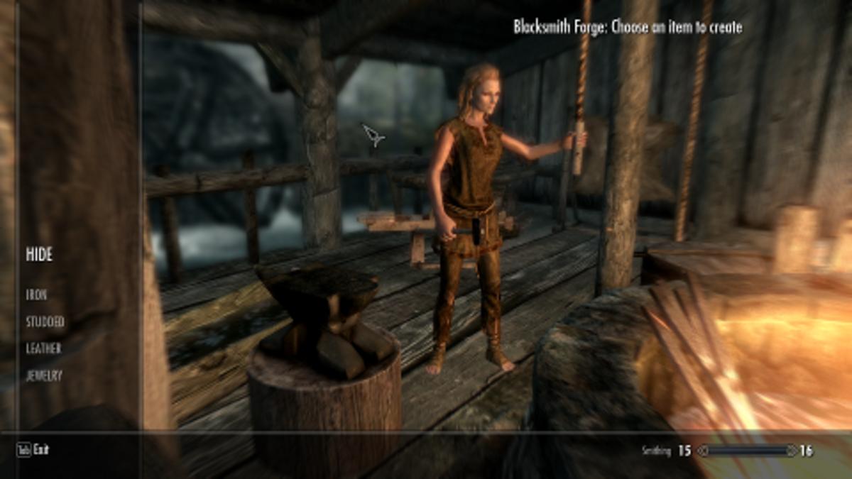 Is crafting broken in Skyrim?