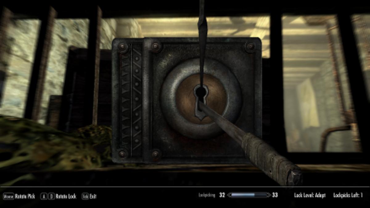 Is lockpicking a useless skill tree?