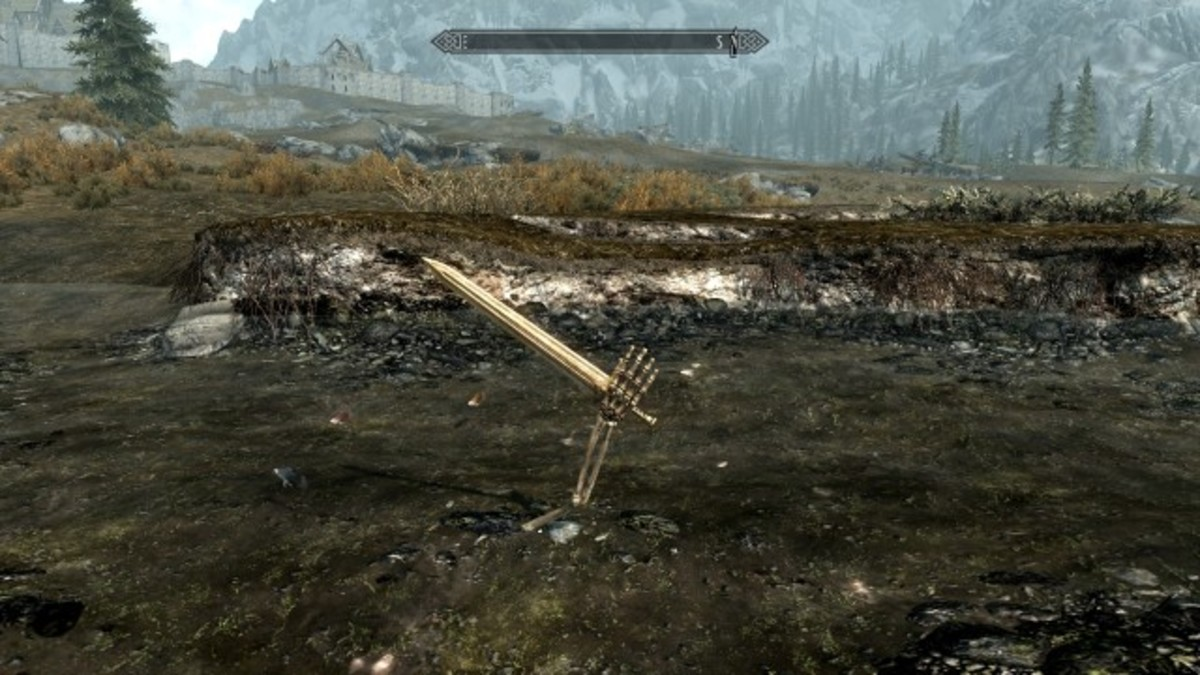 The Excalibur Easter Egg in Skyrim