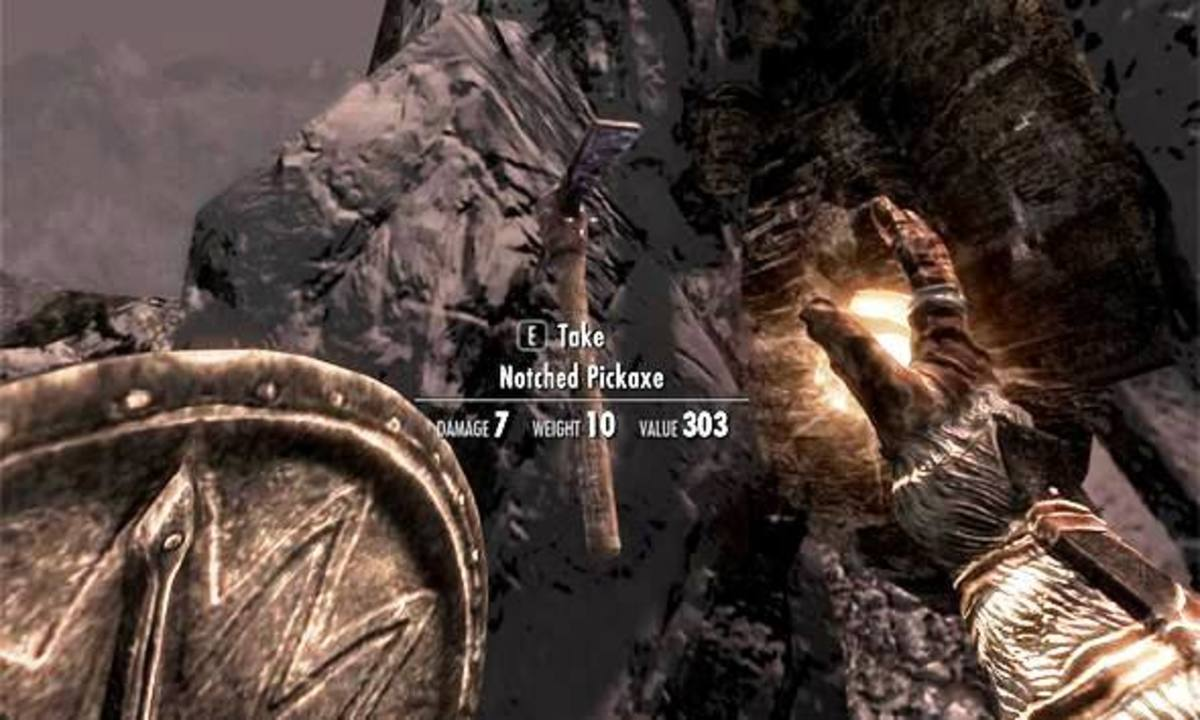 The Minecraft Easter Egg in Elder Scrolls: Skyrim