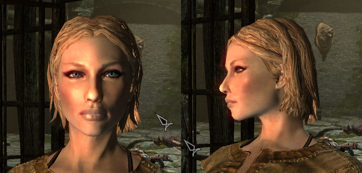 This character uses the Nord 2 preset with sliders pushed to the middle.