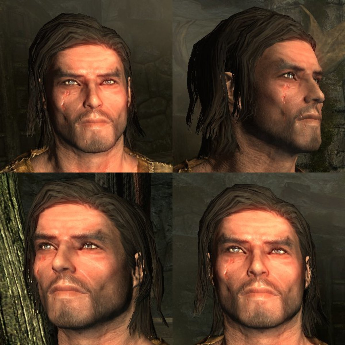 By request, another male character! This is my current 'Skryim' character, Loric. I'm using him for a 'vanilla' playthrough with the Stormcloaks and Companions. You can find the slider settings for Loric and other characters on my website.
