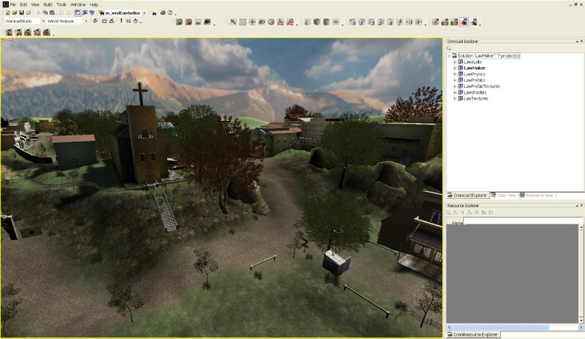 Law Maker Game Engine Editor