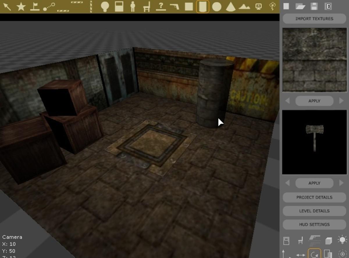 Silent Walk FPS creator in editor