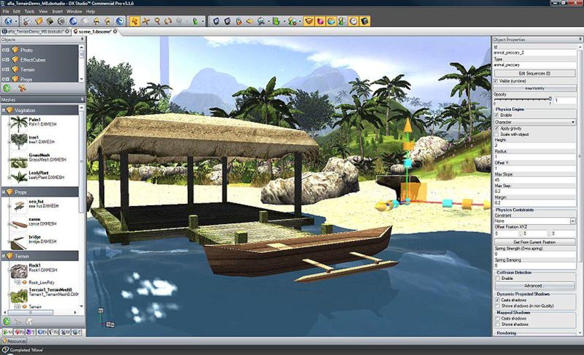 DX studio Editor live view
