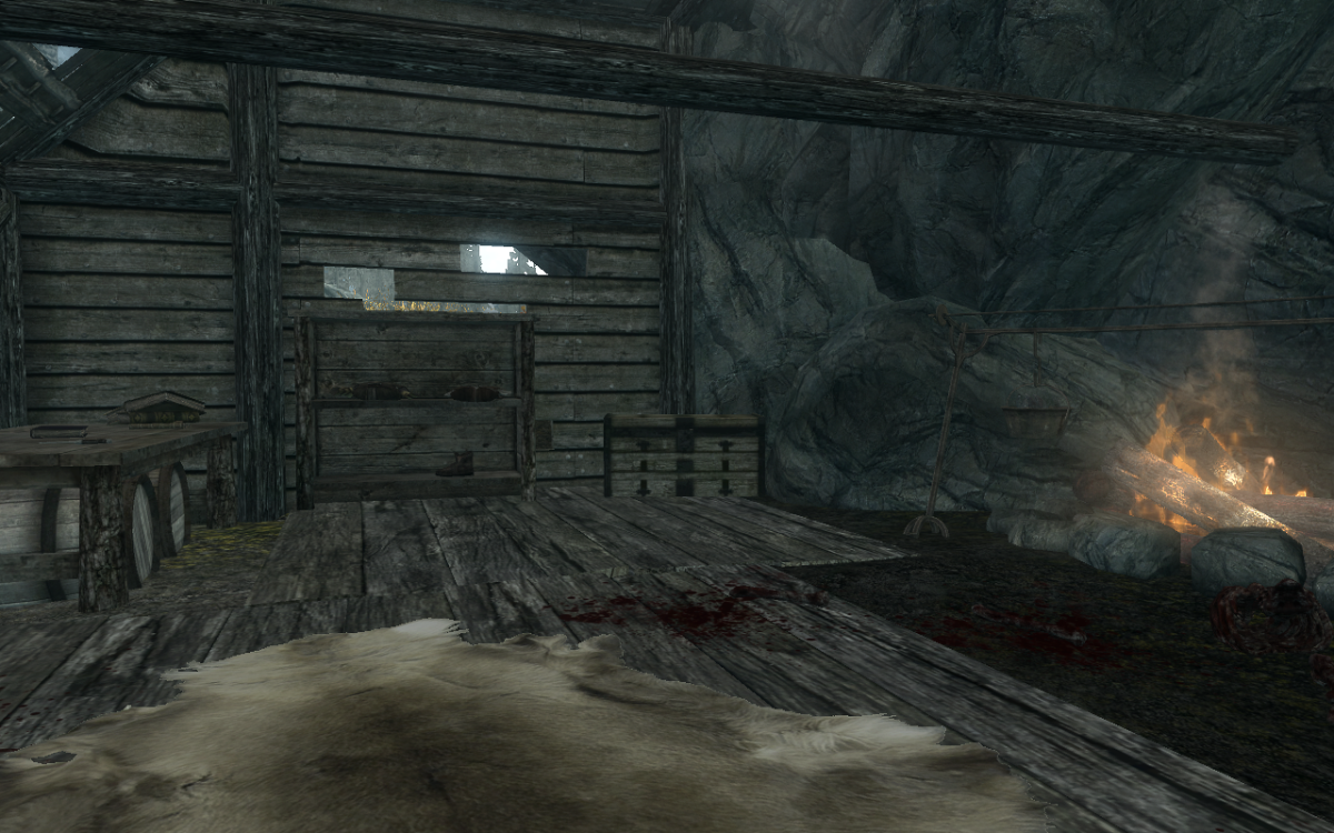 The chest inside the shack that contains Treasure Map III