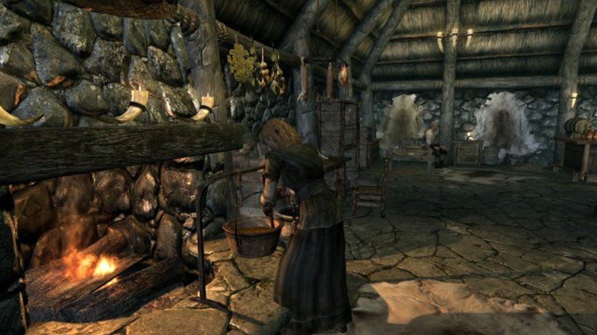 This interesting activity is pretty much useless in vanilla Skyrim. Thank Talos for mods.