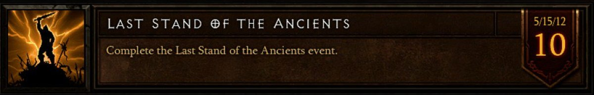 Last Stand of the Ancients Achievement