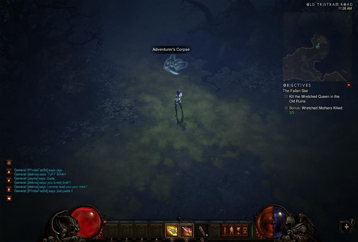 The Adventurer's Corpse