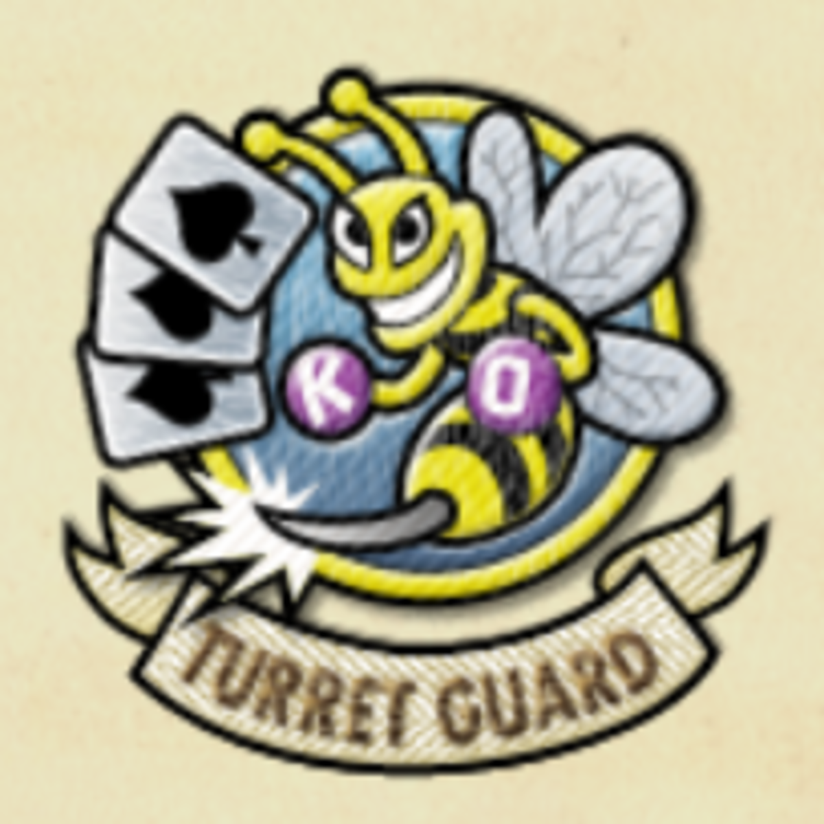 Turret Guard medal.
