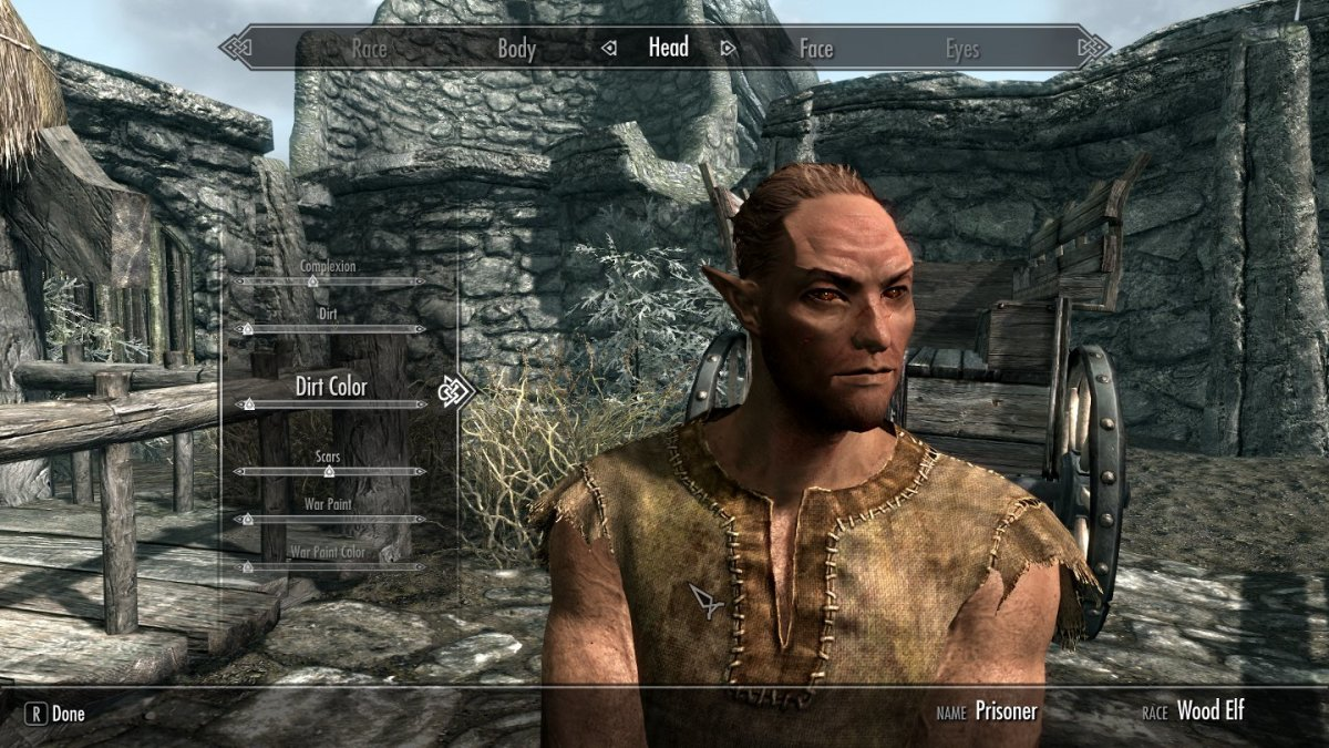 Here's a screencap of my new follower in the Character Creation screen.