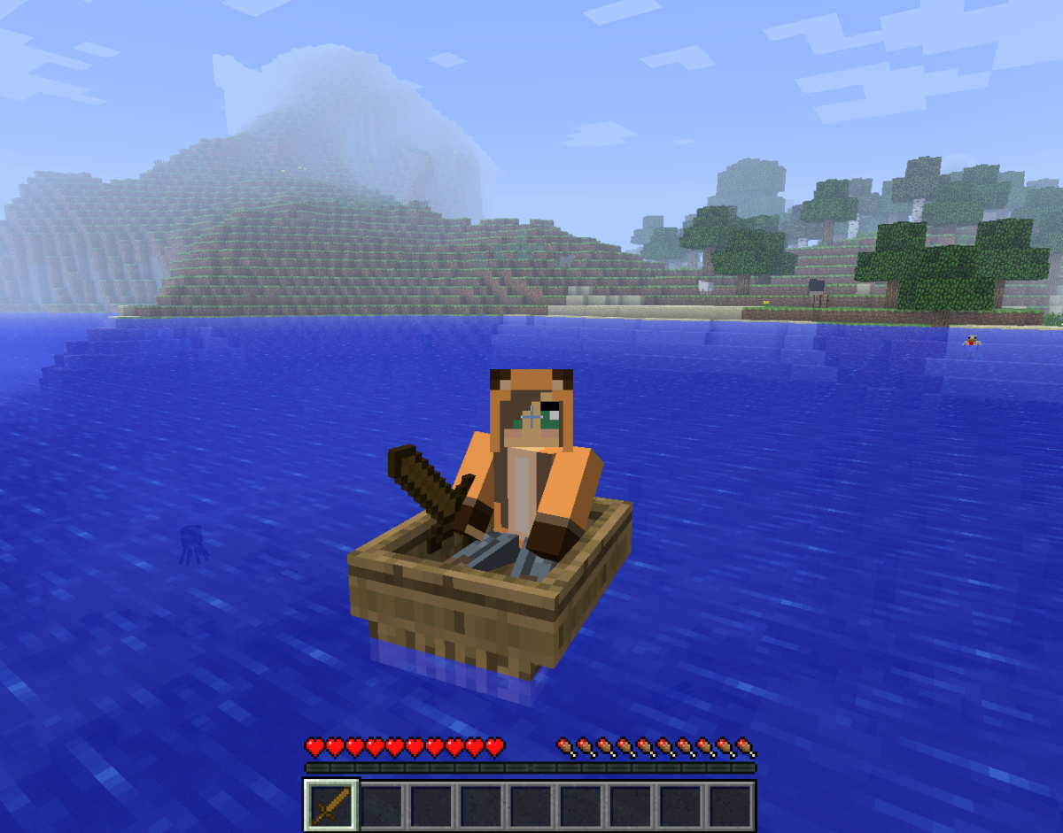 You can easily wield a sword in a boat, making it possible to defend against monsters in pursuit.