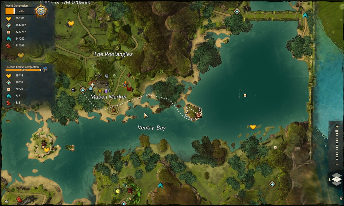 Map route to the Ventry Bay Vista