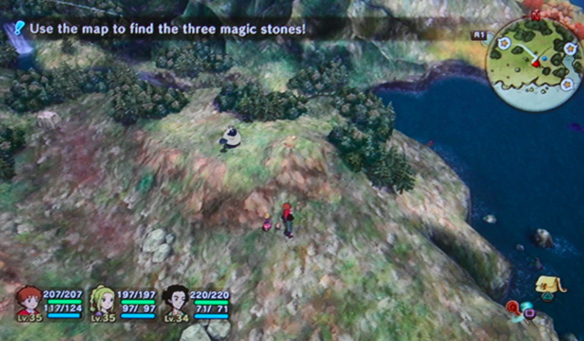 Use the Map to Find the Three Magical Stones