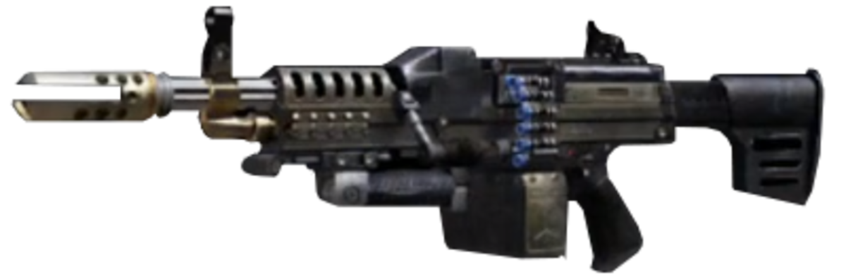 Best LMG in Black Ops 2