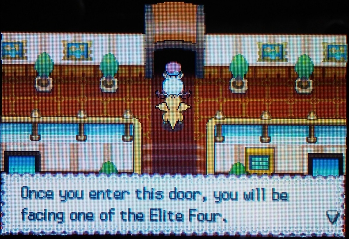 Facing the Elite Four is recommended to earn money and get experience.