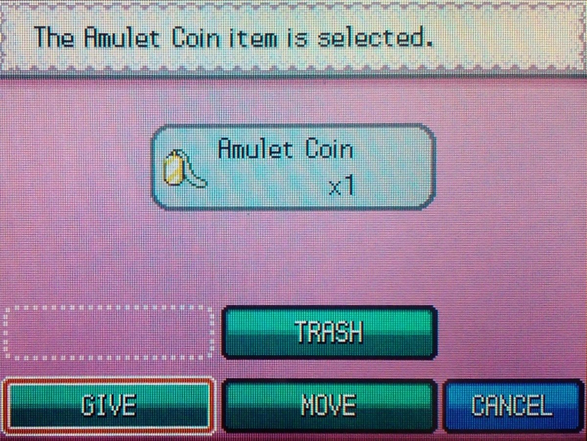 Amulet Coins must be given to a battling Pokémon to hold to have effect.