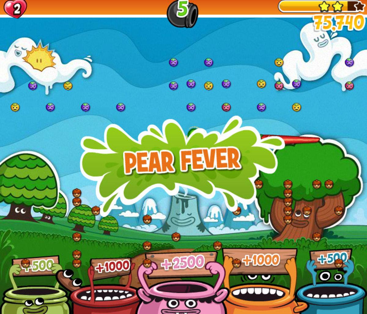 Pear Fever Bonus Mode